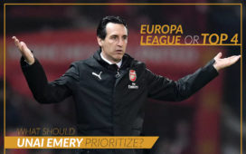 Europa League or Top 4- What should Unai Emery prioritize?