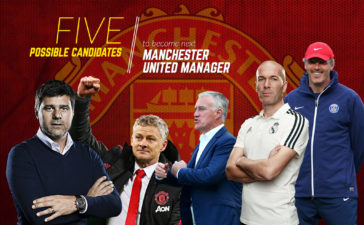 Five possible candidates to become next Manchester United manager