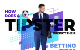 How does a tipster predict their betting tips?